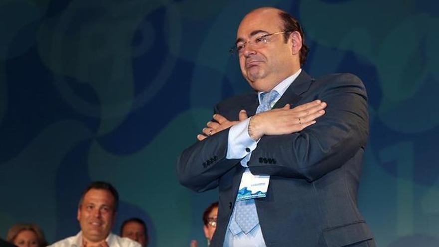 El presidente de los populares y candidato a la alcaldía de Granada, Sebastián Pérez
