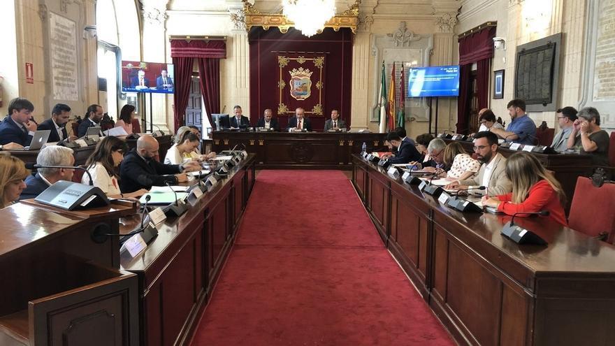 El Pleno aprueba con el voto en contra de Adelante Málaga la subida del 20% del salario a concejales