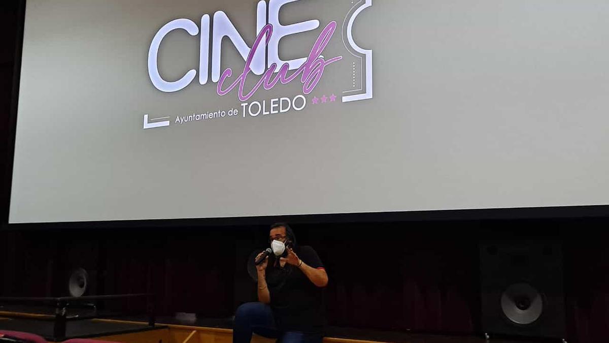 Gabriel Castaño de la Rosa, director del Cine Club Toledo