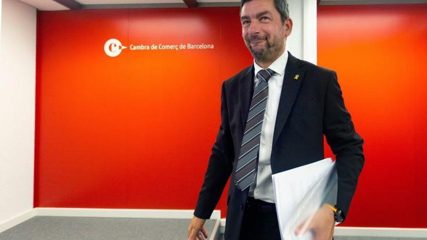 """El presidente de la Cámara de Comercio culpa """"al Estado español"""" de protestas"""