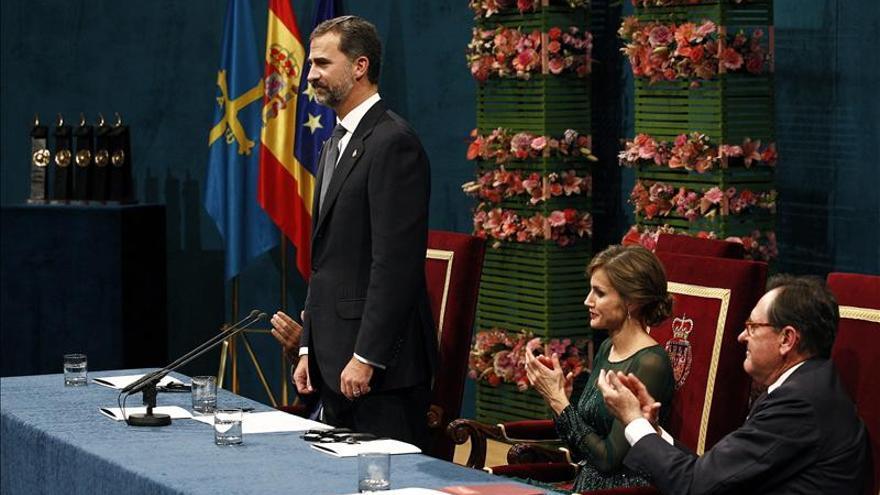 """El Príncipe dice que """"esa España desmoralizada de la que se habla no es la verdadera"""""""