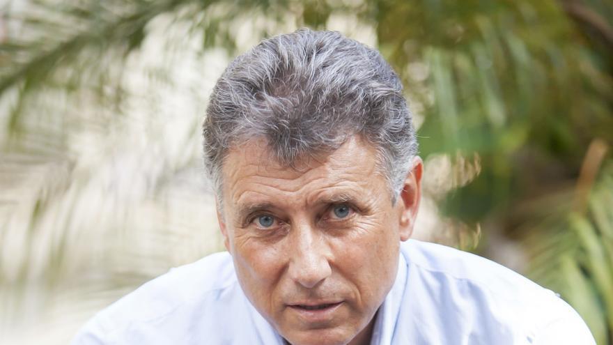 El portavoz del comité insular de Ciudadanos, en un retrato para la entrevista