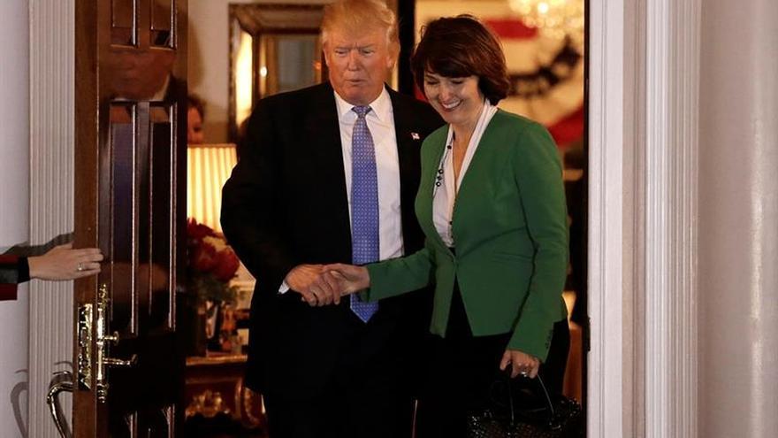Trump elige a la veterana congresista Cathy McMorris como secretaria de Interior