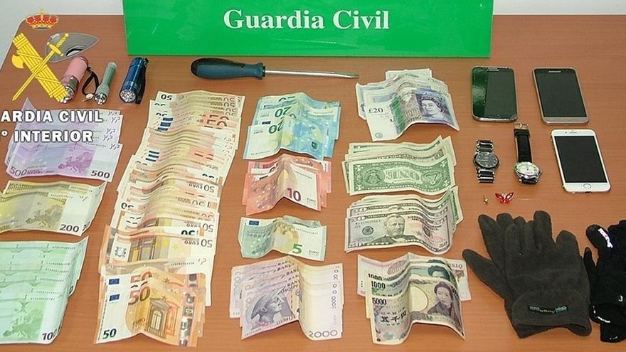 Detenidos tres miembros de una banda por robos en casas de Burgos, Cantabria, La Rioja y Navarra