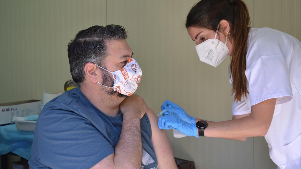 Vacunación en Málaga