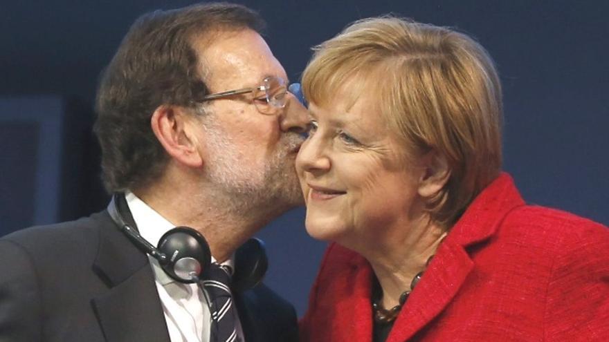 Mariano Rajoy y Ángela Merkel