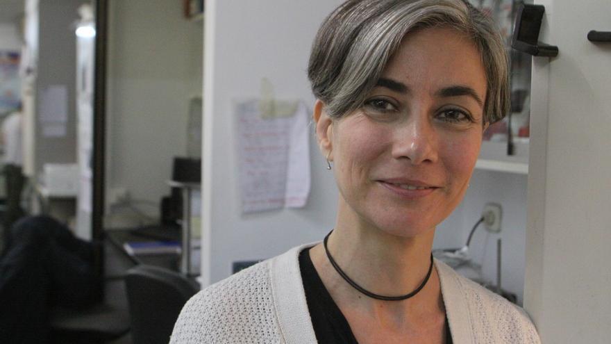 """Cristina Sánchez: """"La regulación solo está en la agenda de Ciudadanos, Podemos y ahora Más País"""". / David Calle"""