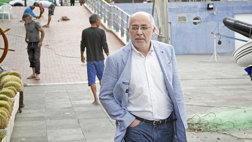 El candidato de Nueva Canarias al Cabildo de Gran Canaria, Antonio Morales. Foto: Alejandro Ramos