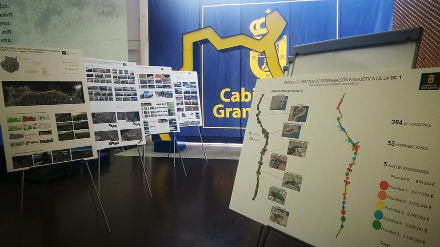 Exposición del Cabildo de Gran Canaria que muestra imágenes inéditas del paisaje de la Isla.