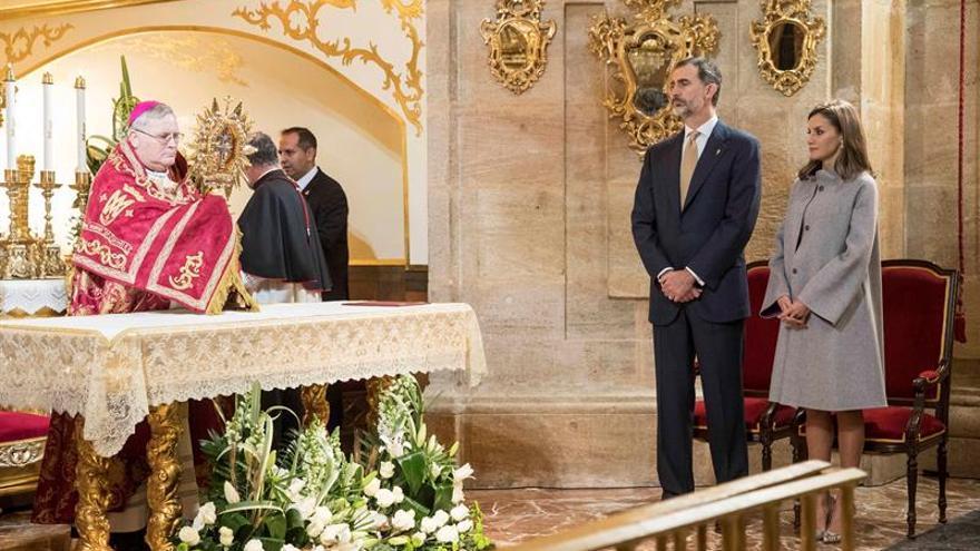 Los Reyes visitan Caravaca (Murcia) por el Año Jubilar