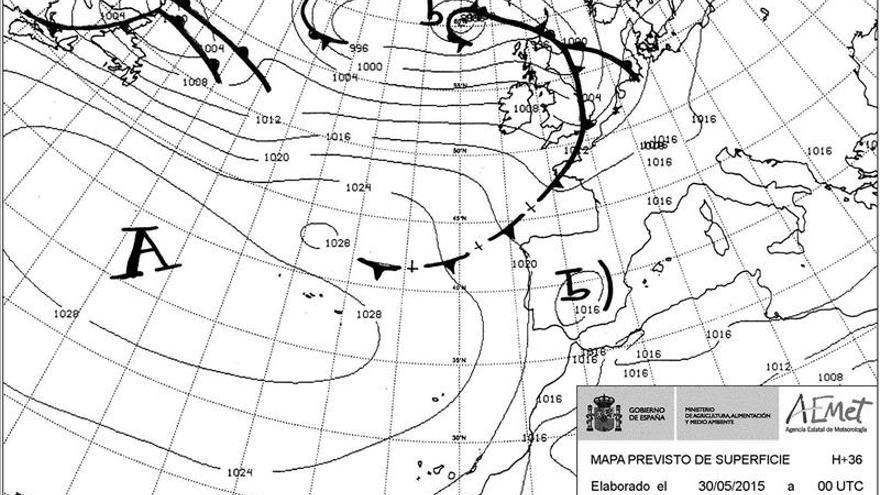 Hoy, tormentas localmente fuertes en Pirineos, Sistema Ibérico y Levante