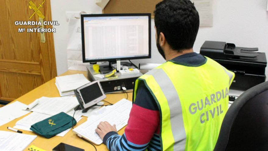 Imagen de archivo de una oficina de la Guardia Civil.