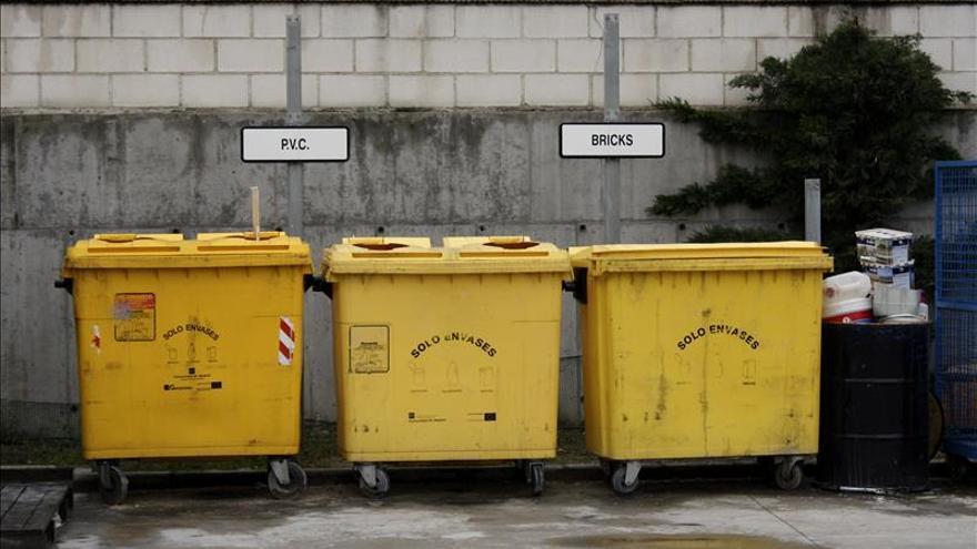 España recicló el 74  por ciento de sus envases en 2014, un 5,3 más que el año anterior