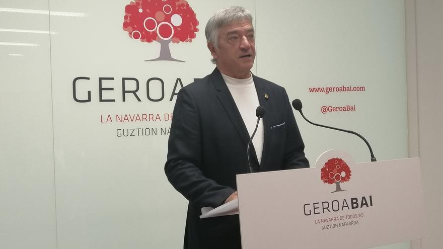 """Koldo Martínez se compromete a llevar al Senado """"la voz de la Navarra plural"""" y a defender el autogobierno"""