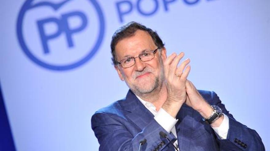 Mariano Rajoy en el acto organizado por Nuevas Generaciones de Toledo en la localidad de Guadamur