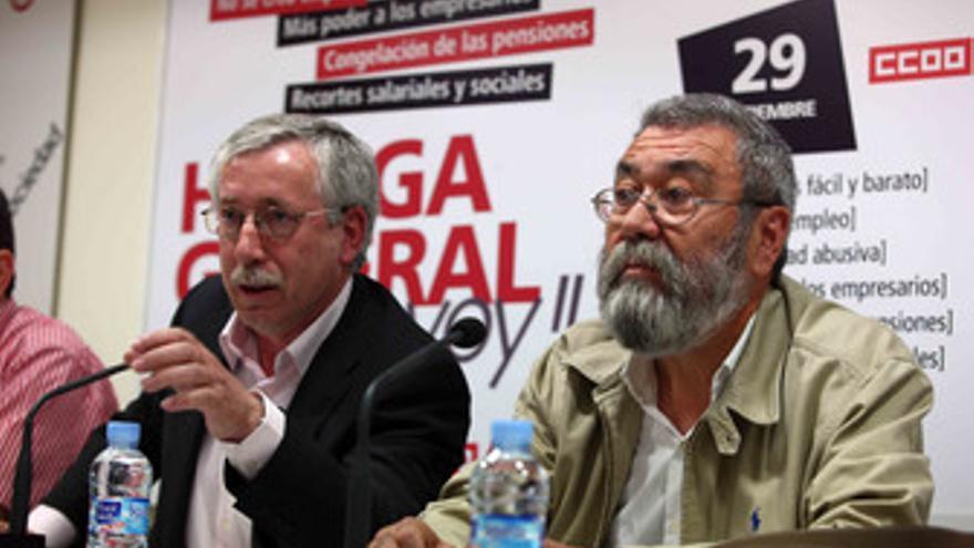 Toxo y Méndez. (EUROPA PRESS)