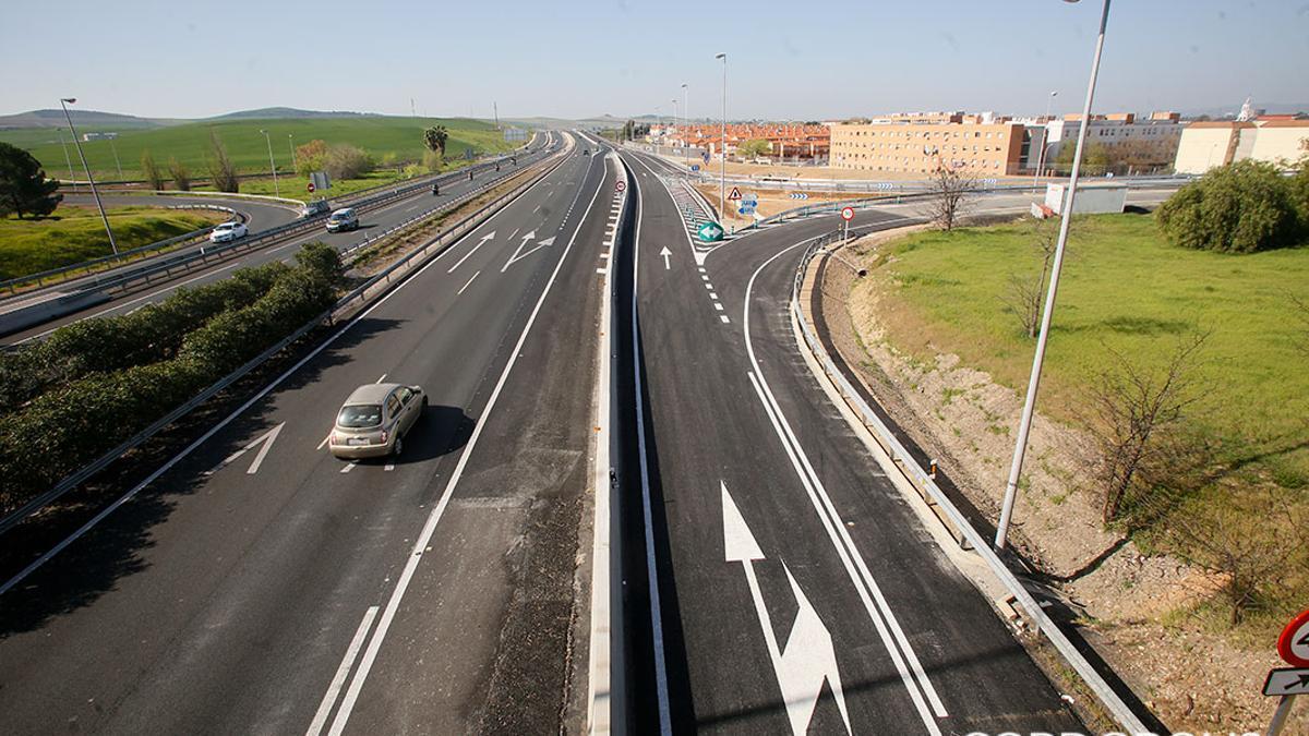 Autovía del Sur a su paso por Córdoba