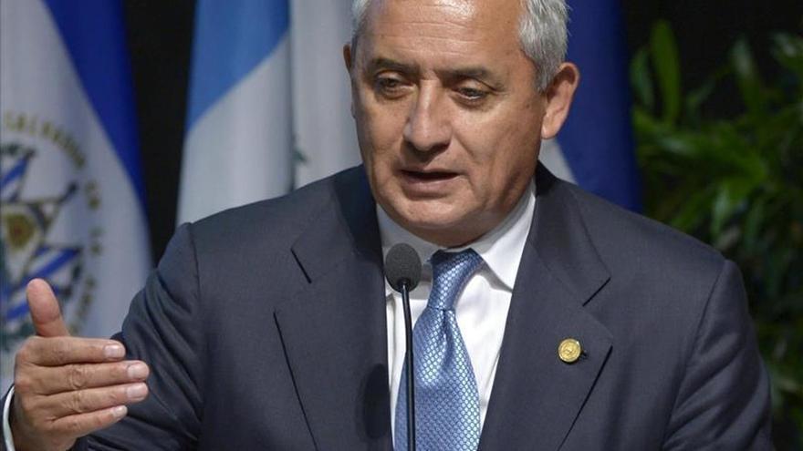 Niegan la excarcelación al expresidente Pérez Molina, acusado de corrupción