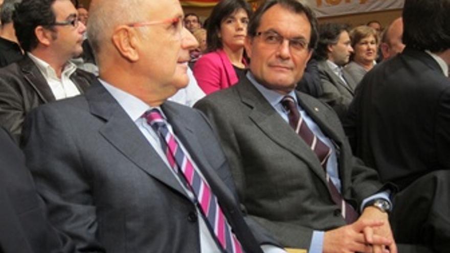 Josep Antoni Duran Y Artur Mas