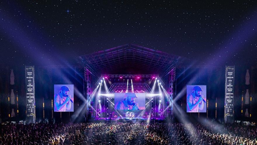 Primera edición del festival Sun&Stars en junio de 2019