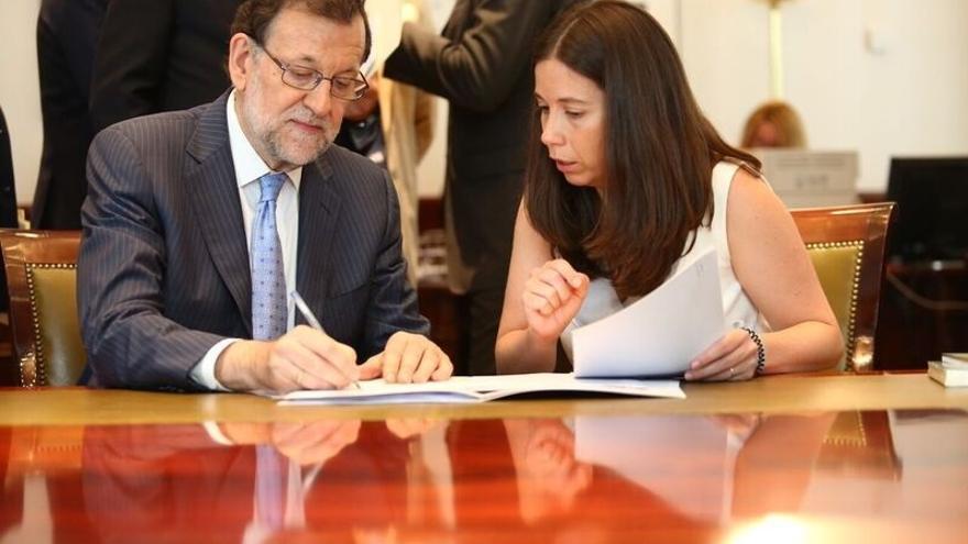 Rajoy cerró el miércoles sus reuniones con Iglesias y Rivera, que eligieron verse en el Congreso