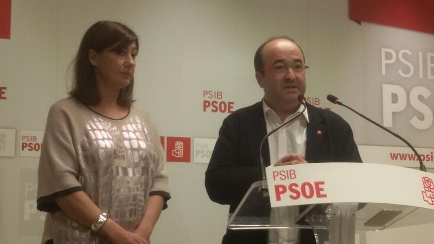 """Iceta, sobre la reunión para abordar el referéndum catalán: """"Cualquier medida unilateral está condenada al fracaso"""""""