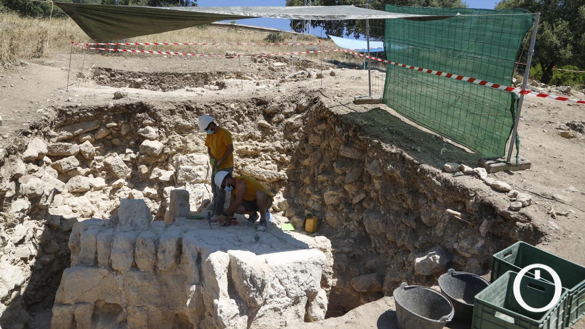 Presentación de los nuevos hallazgos conseguidos en el yacimiento arqueológico de Medina Azahara