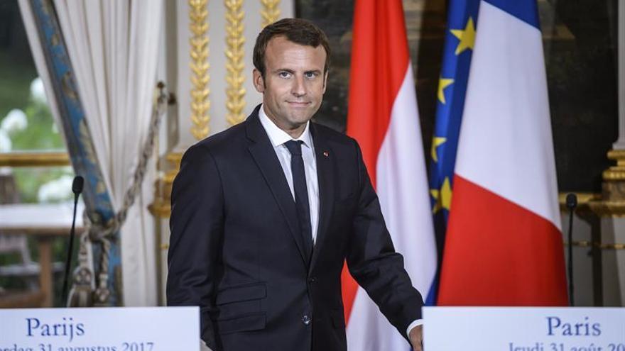 Macron pide una reacción rápida de la UE y el Consejo de Seguridad al ensayo nuclear