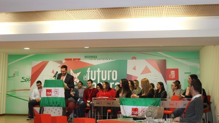Juventudes Socialistas de Almería renueva su ejecutiva con Juan Francisco Garrido como secretario general