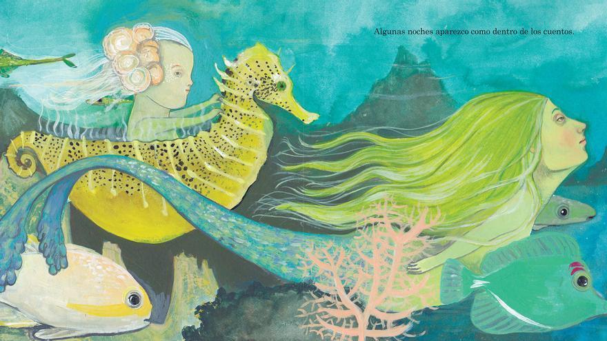 Una de las imágenes del libro infantil 'Vaho'
