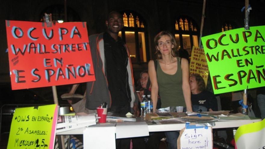OWS en Zuccotti Park