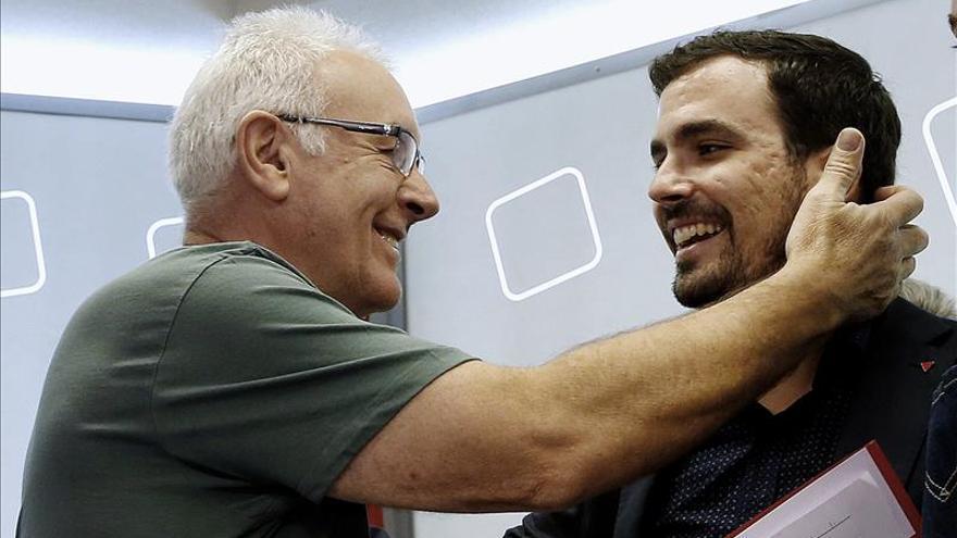 Malestar en IU por no estar incluido Garzón en el debate Rivera-Iglesias