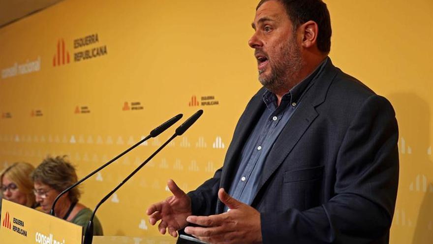 """Junqueras se abre a """"todos los caminos democráticos"""" que culminen el proceso"""