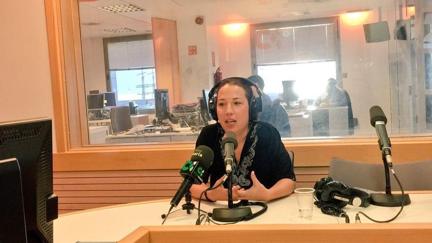 La vicepresidenta del Gobierno de Canarias, Patricia Hernández