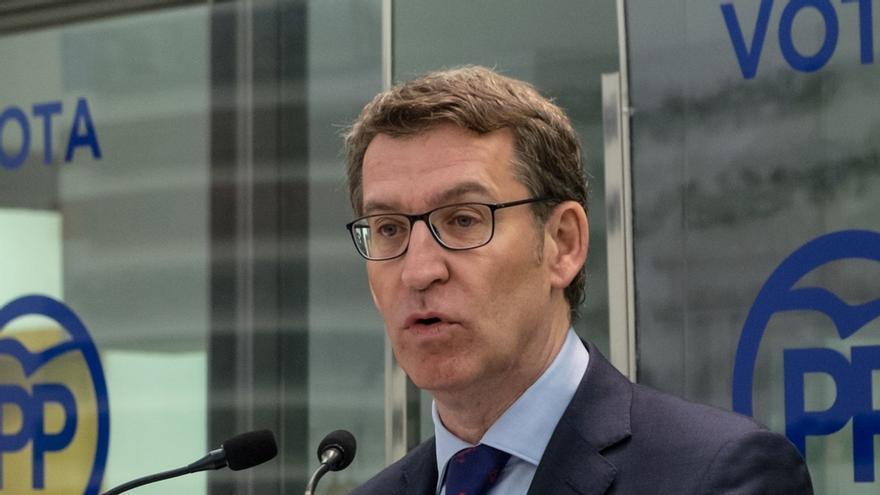 """Feijóo: """"No pido a los candidatos un máster en patatas de A Limia, sino que se tomen en serio Galicia"""""""