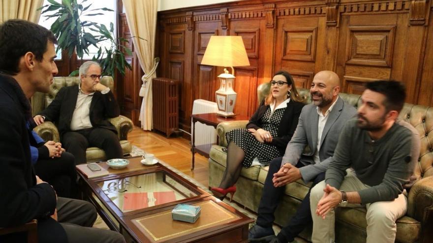 José García Molina y María Díaz en Portugal