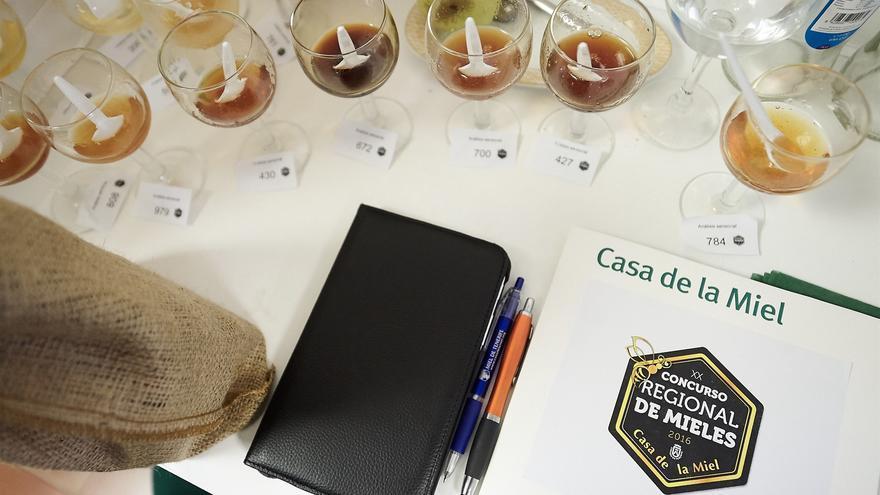 Mieles que concurrieron al concurso organizado por el Cabildo de Tenerife