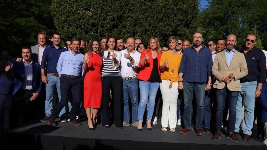 El cierre de la campaña electoral de Ciudadanos se celebraba en Talavera de la Reina