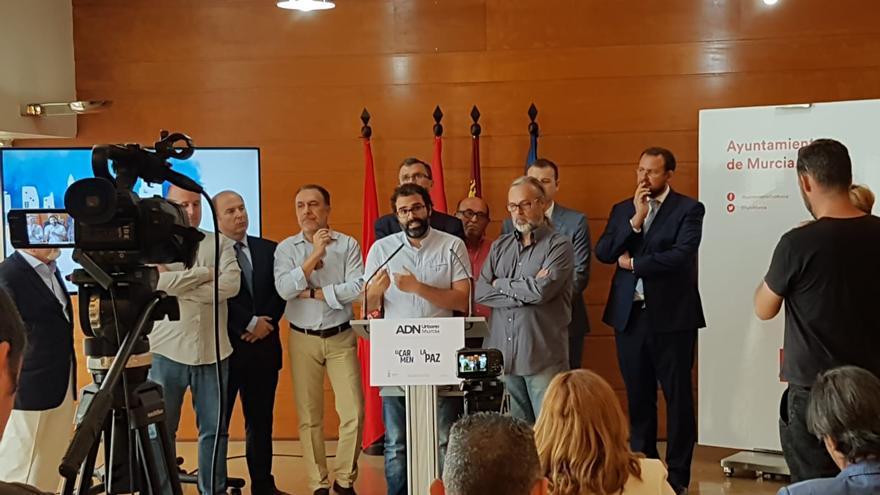 """Ahora Murcia y Cambiemos Murcia: """"Ballesta presenta el proyecto ADN en El Carmen sin haber cumplido ninguna petición de la Junta Municipal"""""""