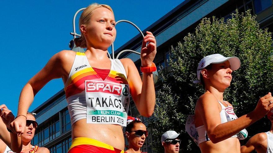 Julia Takacs, bronce en 50 km. marcha para España