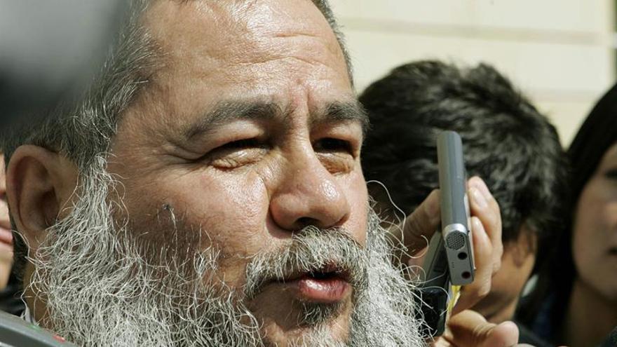 """En la imagen un registro del exjefe de la guerrilla ELN Gerardo Antonio Bermúdez, alias """"Francisco Galán"""", liberado de la cárcel por el Gobierno colombiano para que ejerza como promotor de paz."""