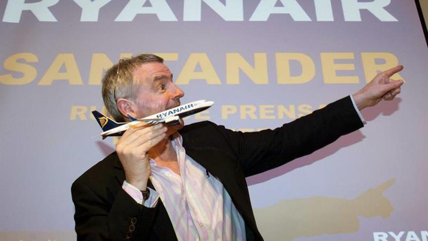 O'Leary dice que Ryanair está interesada en la flota de Alitalia