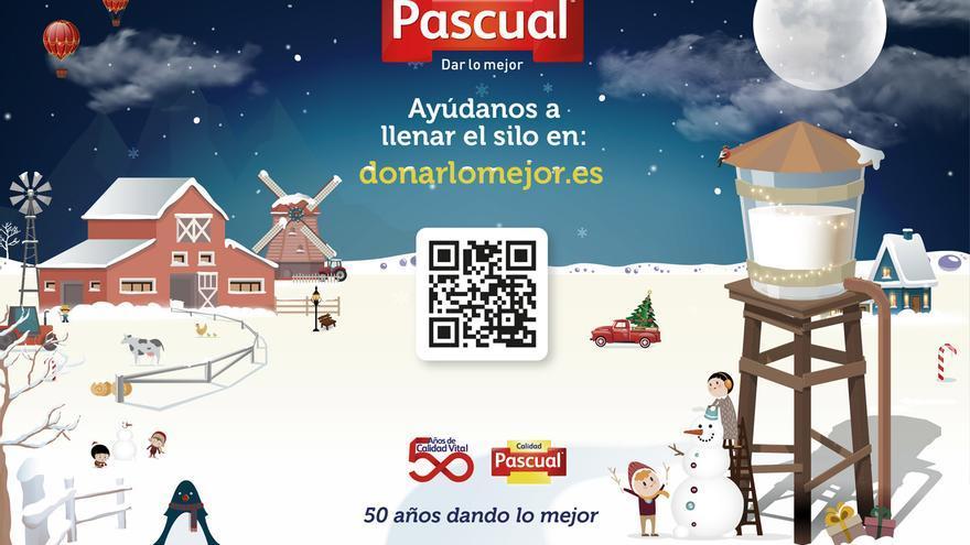 Cartel de la campaña #DonarLoMejor.