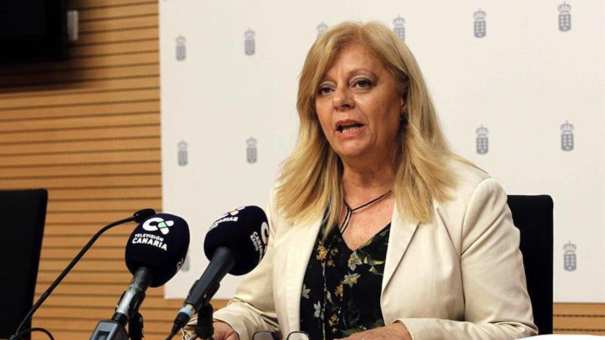La directora de la Agencia Canaria de Calidad Universitaria y Evaluación Educativa del Gobierno de Canarias, Teresa Acosta. EFE/Cristóbal García