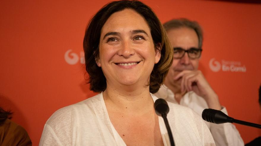 """Colau trabajará para superar los """"vetos cruzados"""" entre ERC y PSC la próxima semana"""