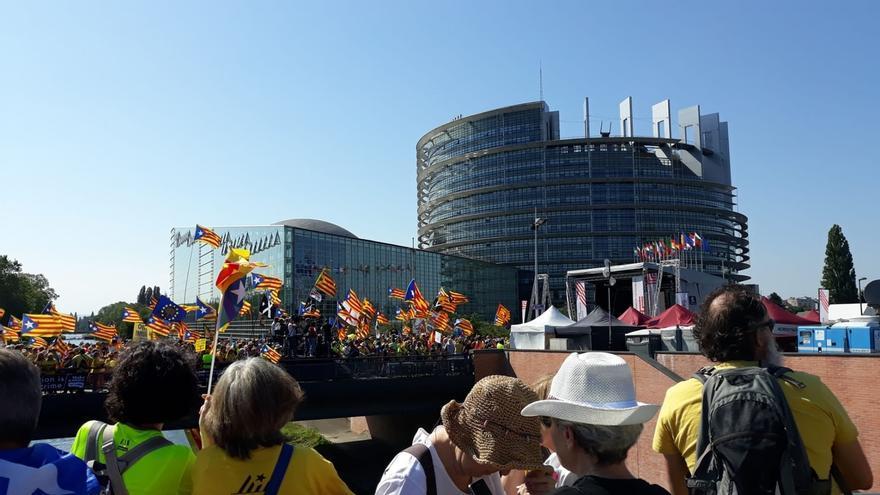 """Puigdemont acusa a la Eurocámara de """"represión"""" y le pide desde Alemania que corrija la deriva"""