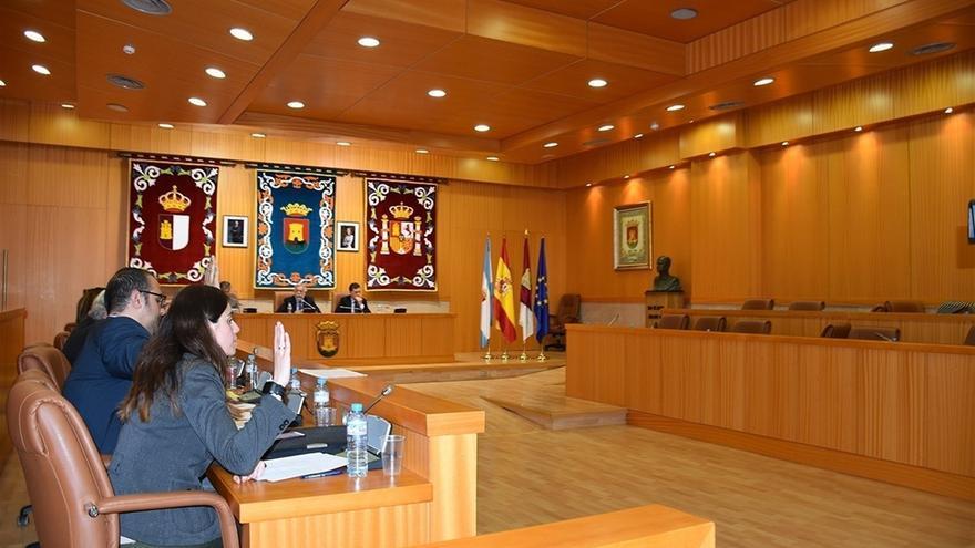 Pleno en Talavera en el que la oposición abandonó la sesión