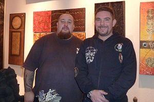 Alfonso y Mariano, en 'La Mano Zurda' | Foto: A.P.