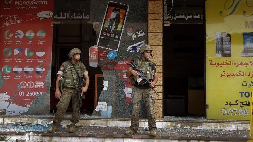 Un muerto y seis heridos en un nuevo brote de violencia en el Líbano