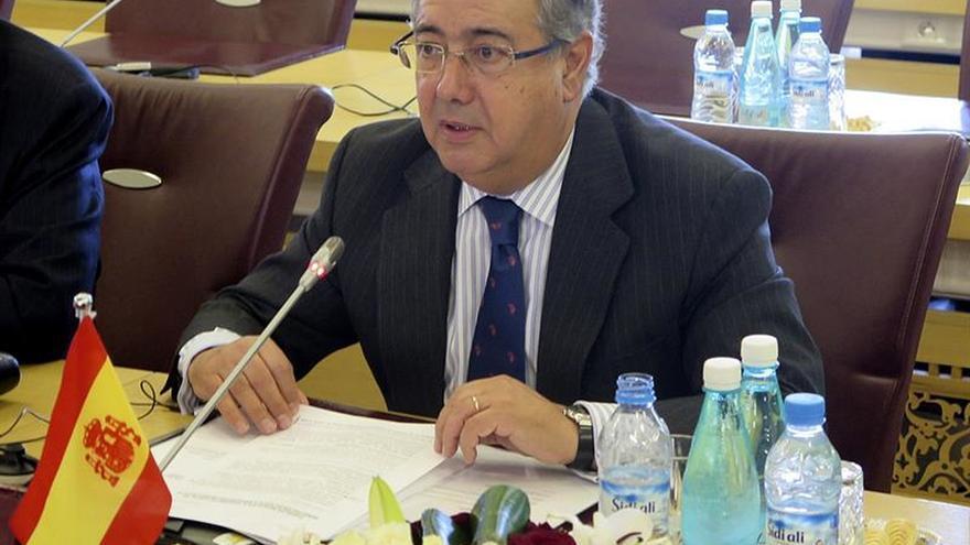Zoido analiza con sus colegas de la UE la inmigración y la lucha antiterrorista